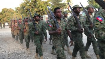 Is a restored military cause for concern or hope in Haiti