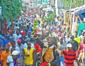 Independence Day, Jan 1, 2015, photo by Haiti Liberté.jpg