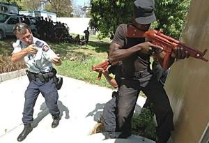 RCMP officer training Haitian police following 2004 coup.jpg